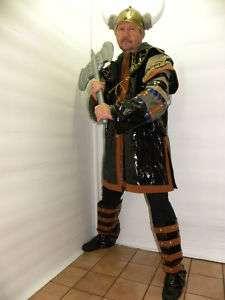 XL Viking Warrior Knight Thor Mens Medieval Costume Plus New