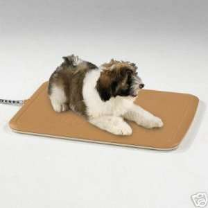 SMALL Heated Kennel Pad Dog Puppy Cat Kitten: Kitchen & Dining