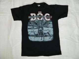 1982 BLUE OYSTER CULT VTG PROMO T SHIRT NOS tour tee