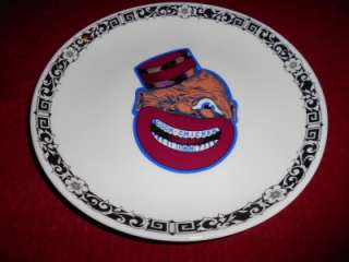 OLD ORIGINAL CHICKEN INN BLACK AMERICANA RESTAURANT DINNER PLATE
