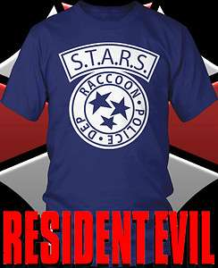 Resident Evil STARS Shirt sizes S 3X $8.99 $12.99 Veronica HD Xbox 4
