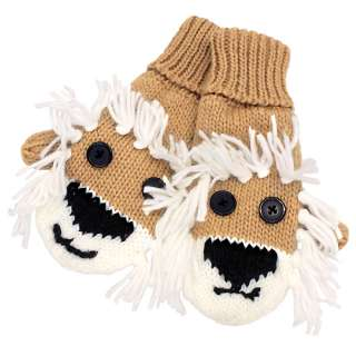 Knitting Pattern For Puppet Mittens : Knit Childrens Animal Puppet Mittens Buy the KNITTING PATTERN