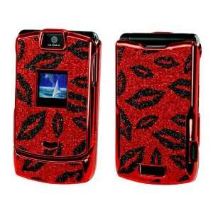 PREMIUM RED PROGUARD HARD COVER CASE WITH BLACK LIPS