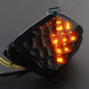 12V Smoke Lens Super Bright White Color LED Light Turn Signal Light