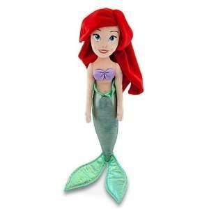 12in Ariel Plush Doll   Little Mermaid Stuffed Toy Toys