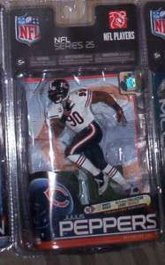 MCFARLANE NFL 25 JULIUS PEPPERS BEARS CL CHASE VARIANT COLLECTORS