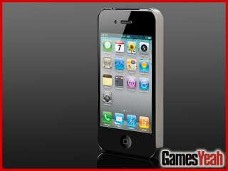 NEW CHROME ULTRA SLIM PREMIUM HARD CASE COVER for Apple iPhone 4 4G