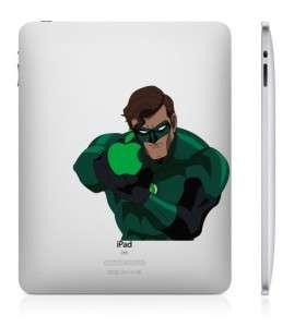 US SHIP GREEN LANTERN iPad 2 And iPad 1 vinyl sticker humor decal skin
