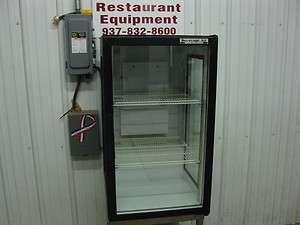 Beverage Air Counter Top One 1 Glass Door Refrigerator Cooler UR30GE