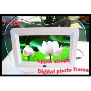 Photo Frame MP3 MP4 Player Clear White Remote Lovely Gift: Everything