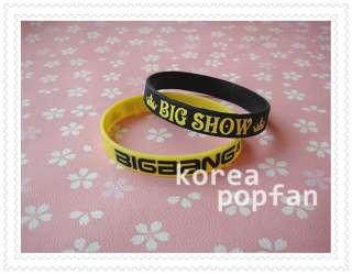 BIGBANG big bang KPOP Support wrist band BRACELET X2 Yellow & Black