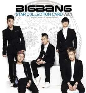 BIGBANG Big Bang Official Star Collection Card Vol 1