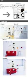 Removable 70*50cm kidS Dandelion Flower Tree WALL DECOR Wall Sticker
