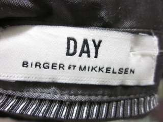 DAY BIRGER ET MIKKELSEN Gray Short Sleeve Shirt Sz 42