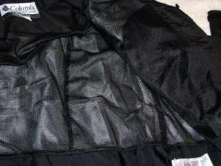 COLUMBIA COAST RIDGE Black Fall Shell JACKET~Mens Large