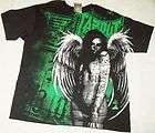 TAPOUT Mens Saint Black T Shirt Size XL