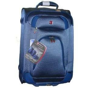 Aubonne II Blue Rolling Upright Carry On Luggage