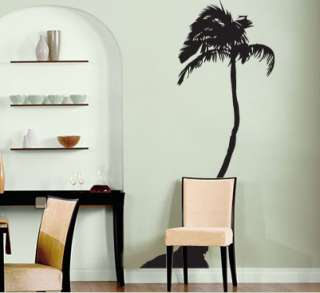 Vinyl Wall Art Decal Sticker Palm Tree Big 8ft tall