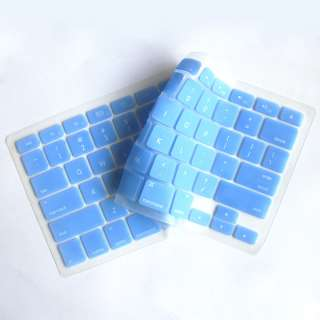 Blue Silicone Keyboard cover skin for macbook PRO 13.3
