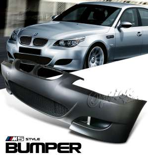 2008 2009 BMW E60 5 SERIES M5 STYLE COMPLETE FRONT BUMPER KIT (without