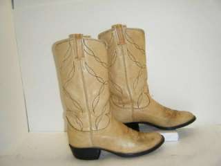 Ladies Tony Lama Cowboy Boots sz 6B (#9952)