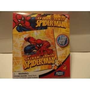 Spider man Spider Sense 100 Piece Puzzle