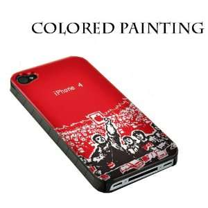 Red iPhone 4 / 4S Cases   Designer iPhone Phone Case Cell