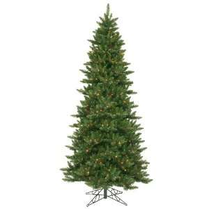 9.5 Pre Lit Slim Camdon Fir Artificial Christmas Tree