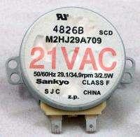 21 VAC Microwave Synchronous Motor M2HJ29A709