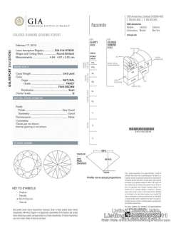 43 CARAT PINK ROUND BRILLIANT DIAMOND   GIA REPORT   RARE PLEOCHROIC