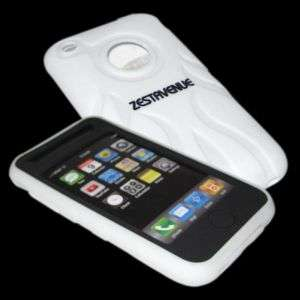 EVO WHITE FIRE ACCESSORY CASE COVER FOR iPHONE 3G 3GS