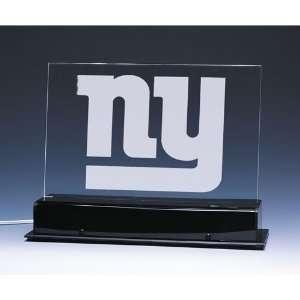 New York Giants NFL Edge Light Team Logo Display Sports
