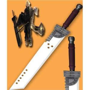 BIG Advent Children Cloud Buster Sword From Movie with