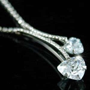 Heart Bridesmaid Bridal Wedding Fashion Necklace SN058