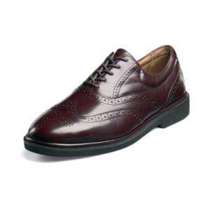 Florsheim BRISTOW Mens Burgundy Leather Shoe 12015 601