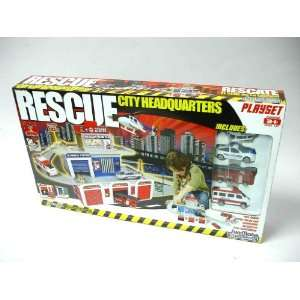 Sun Mate Corporation Rescue Center Headquarters Toys