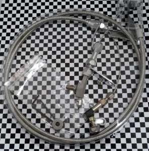 BUDGET CHRYSLER MOPAR 727 TRANSMISSION KICKDOWN CABLE