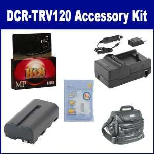 Sony DCR TRV120 Camcorder Accessory Kit includes HI8TAPE Tape