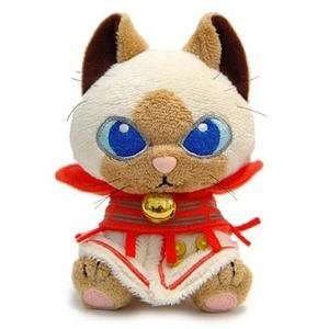 Capcom Monster Hunter X Touma Kizzuairu Plush Keychain
