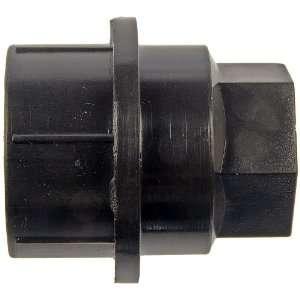 711 025 AutoGrade Black M27 2.0 Thread Wheel Lug Nut Cover Automotive