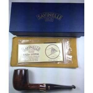 Savinelli Carmella Smooth (128) Tobacco Pipe Everything