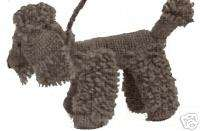 Vintage Crochet Toy Dog Puppy French Poodle Pattern