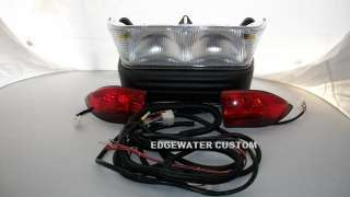 CLUB CAR PRECEDENT GAS GOLF CART HEAD TAIL LIGHT & BUCKET HARNESS 2008