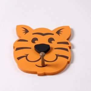 Tiger Head Wall Pegs   Set of 2 Home & Kitchen