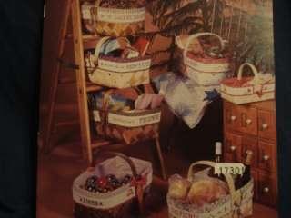 Country Basket Cross Stitch Book Z 74 XStitch X Stitch Patterns 1983