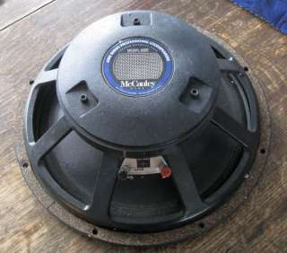 McCauley High Power 15 Woofer For Leslie Speaker 400w