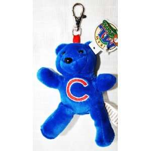 Forever Collectibles Chicago Cubs Plush official MLB 4 Keychain teddy