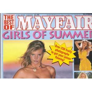 OF MAYFAIR GIRLS OF SUMMER #25: MAYFAIR MAGAZINE. PAUL RAYMOND: Books