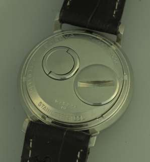 1967 VINTAGE BULOVA ACCUTRON 214 RAILROAD APPROVED MENS WRIST WATCH