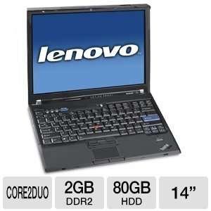Lenovo IBM ThinkPad T61 Notebook PC   Intel Core 2 Duo 2